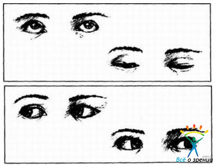 Как рисовать глаз вверх